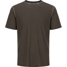 super.natural Base Tee 140 Heren, killer khaki/bamboo